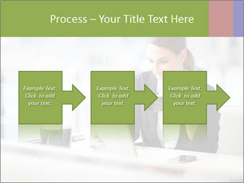 Young businesswoman PowerPoint Templates - Slide 88