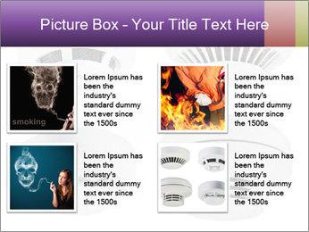 Fire detector PowerPoint Templates - Slide 14