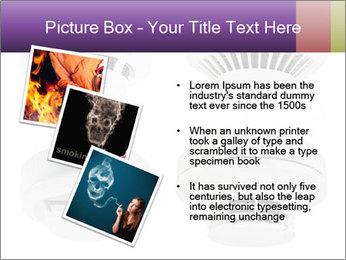 Fire detector PowerPoint Templates - Slide 17