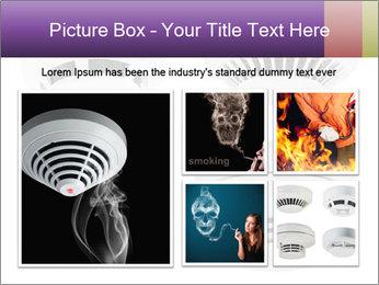 Fire detector PowerPoint Templates - Slide 19