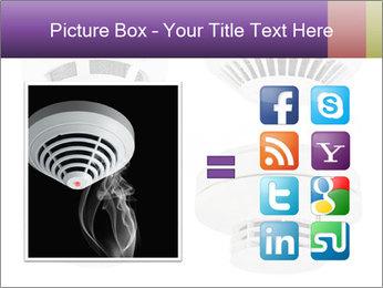 Fire detector PowerPoint Templates - Slide 21