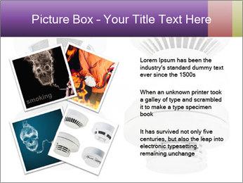 Fire detector PowerPoint Templates - Slide 23
