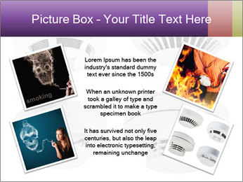 Fire detector PowerPoint Templates - Slide 24