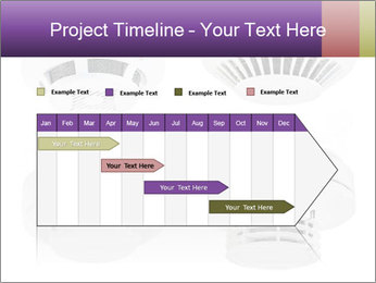 Fire detector PowerPoint Templates - Slide 25