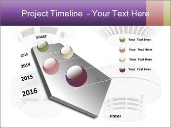 Fire detector PowerPoint Templates - Slide 26