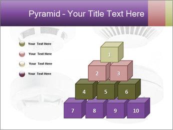 Fire detector PowerPoint Templates - Slide 31
