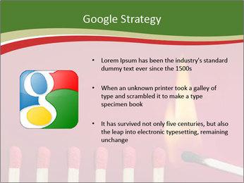 Burning match setting fire PowerPoint Template - Slide 10