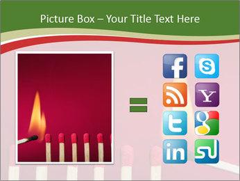 Burning match setting fire PowerPoint Template - Slide 21