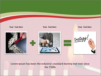 Burning match setting fire PowerPoint Templates - Slide 22