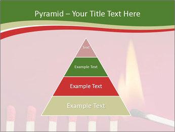Burning match setting fire PowerPoint Template - Slide 30