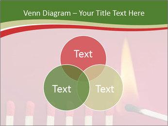 Burning match setting fire PowerPoint Template - Slide 33