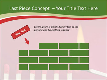 Burning match setting fire PowerPoint Templates - Slide 46