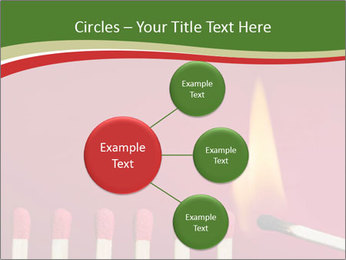 Burning match setting fire PowerPoint Templates - Slide 79