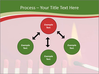 Burning match setting fire PowerPoint Templates - Slide 91