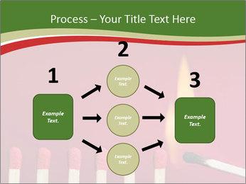 Burning match setting fire PowerPoint Template - Slide 92