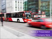 City traffic PowerPoint Templates