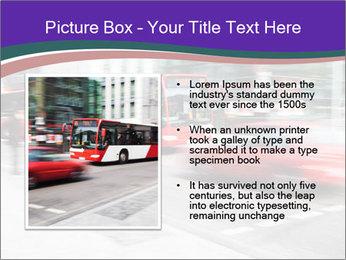 City traffic PowerPoint Template - Slide 13
