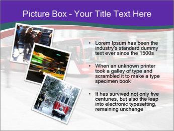 City traffic PowerPoint Template - Slide 17
