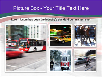 City traffic PowerPoint Template - Slide 19