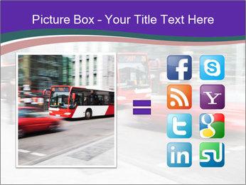 City traffic PowerPoint Template - Slide 21