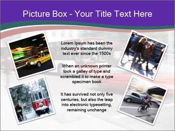 City traffic PowerPoint Template - Slide 24