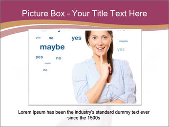 Hand Squeezing Paper PowerPoint Template - Slide 16