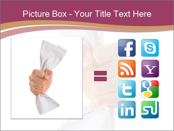 Hand Squeezing Paper PowerPoint Template - Slide 21