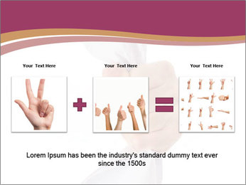 Hand Squeezing Paper PowerPoint Template - Slide 22