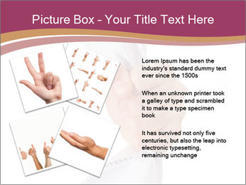 Hand Squeezing Paper PowerPoint Template - Slide 23