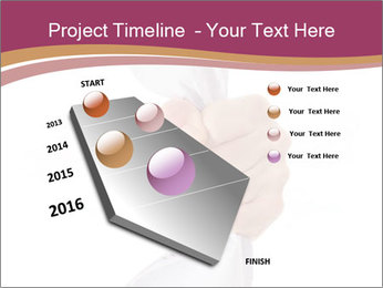 Hand Squeezing Paper PowerPoint Template - Slide 26