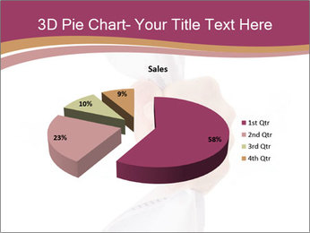 Hand Squeezing Paper PowerPoint Template - Slide 35