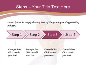 Hand Squeezing Paper PowerPoint Template - Slide 4