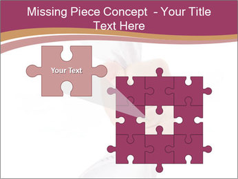 Hand Squeezing Paper PowerPoint Template - Slide 45