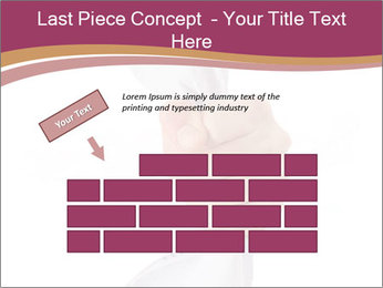 Hand Squeezing Paper PowerPoint Template - Slide 46