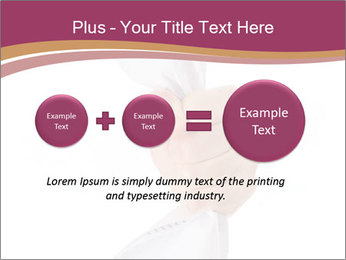 Hand Squeezing Paper PowerPoint Template - Slide 75