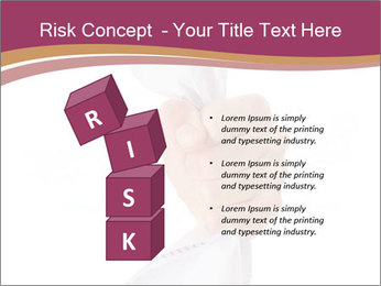 Hand Squeezing Paper PowerPoint Template - Slide 81