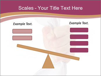 Hand Squeezing Paper PowerPoint Template - Slide 89