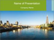 Panoramic shot PowerPoint Templates