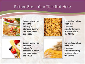 Fresh italian pasta PowerPoint Templates - Slide 14