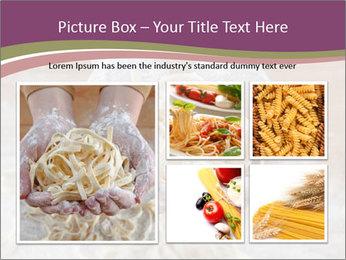 Fresh italian pasta PowerPoint Templates - Slide 19