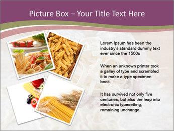 Fresh italian pasta PowerPoint Templates - Slide 23