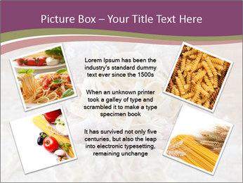 Fresh italian pasta PowerPoint Templates - Slide 24