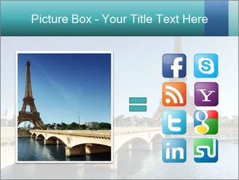 Eiffel tower PowerPoint Template - Slide 21