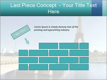 Eiffel tower PowerPoint Template - Slide 46