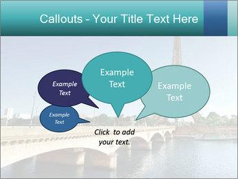 Eiffel tower PowerPoint Template - Slide 73