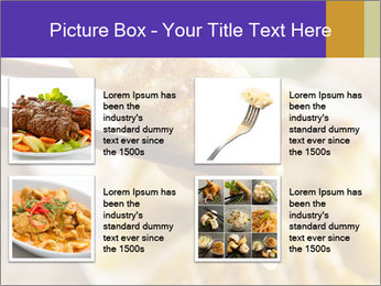 Homemade Asian Vegeterian Potstickers PowerPoint Template - Slide 14