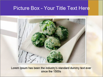 Homemade Asian Vegeterian Potstickers PowerPoint Template - Slide 15