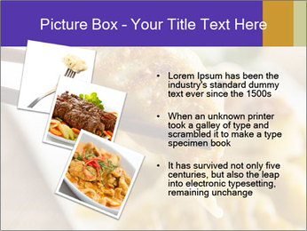 Homemade Asian Vegeterian Potstickers PowerPoint Template - Slide 17