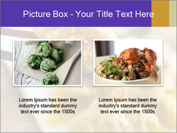 Homemade Asian Vegeterian Potstickers PowerPoint Template - Slide 18