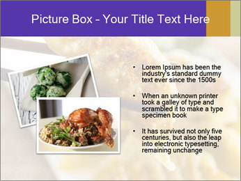 Homemade Asian Vegeterian Potstickers PowerPoint Template - Slide 20